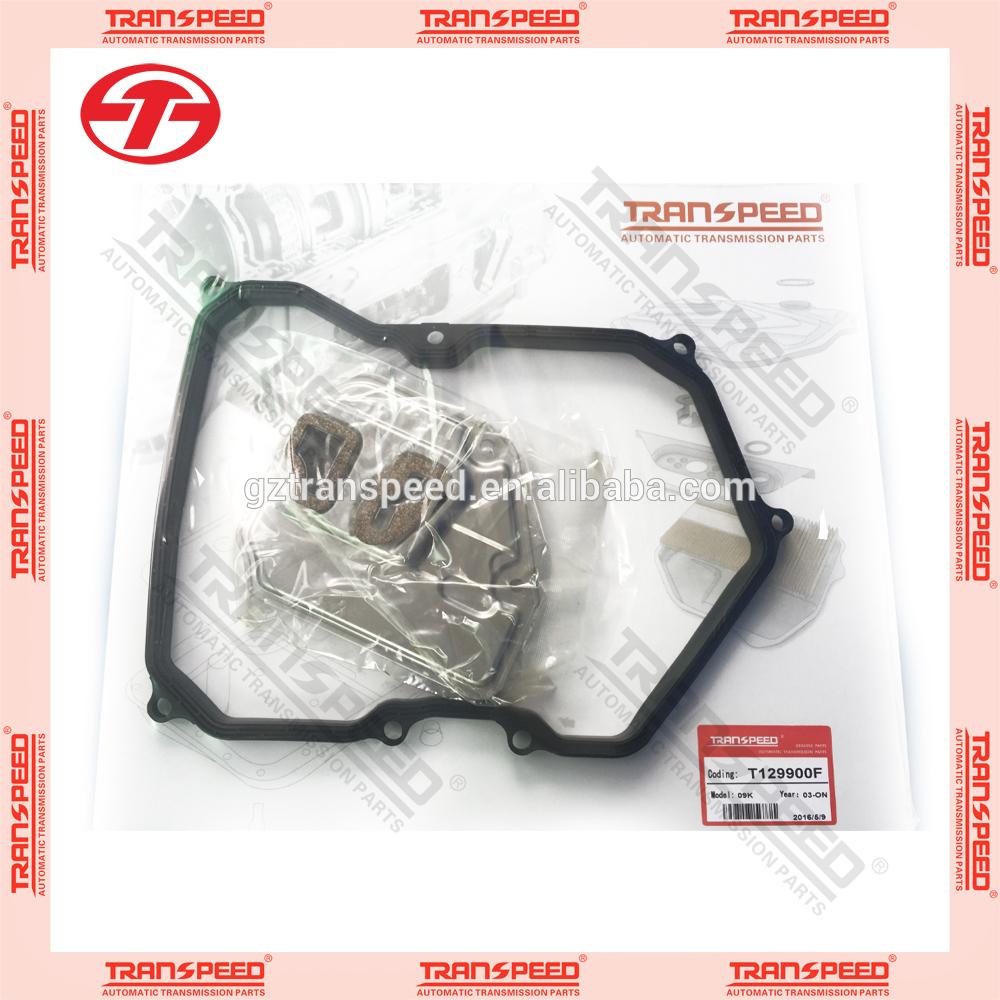 09K transmission filter gasket kit with filter oe 09K 325 429 kit fit for VW.