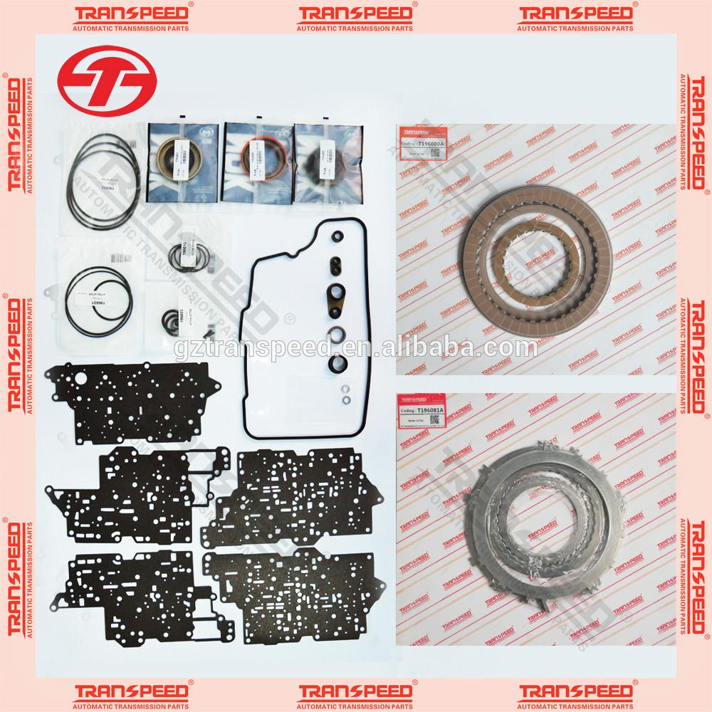 Transpeed 6T75E automatic transmission rebuild kits spare parts