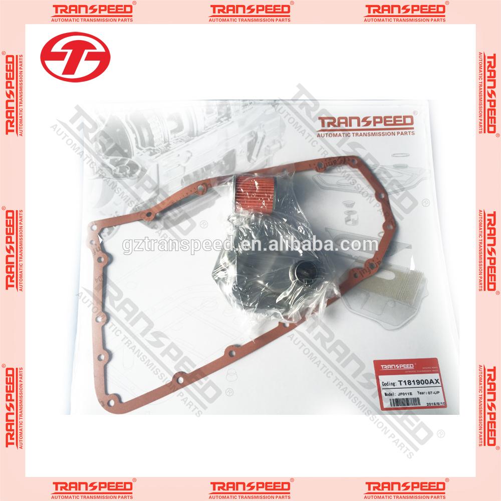 Transpeed JF011E RE0F10A CVT transmission service kit oil filter gasket kit