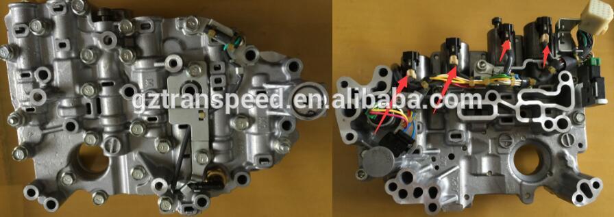 transpeed automatic transmission cvt JF015 valve body