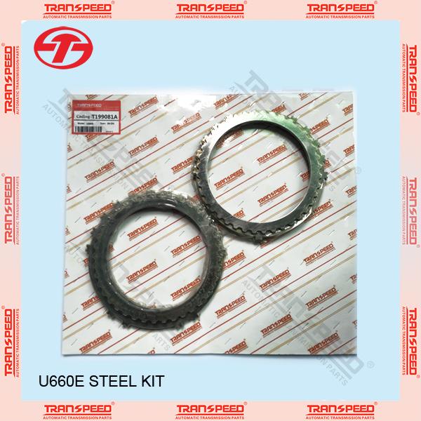 TRANSPEED U660E automatic transmission steel kit rebuild kit T199081A