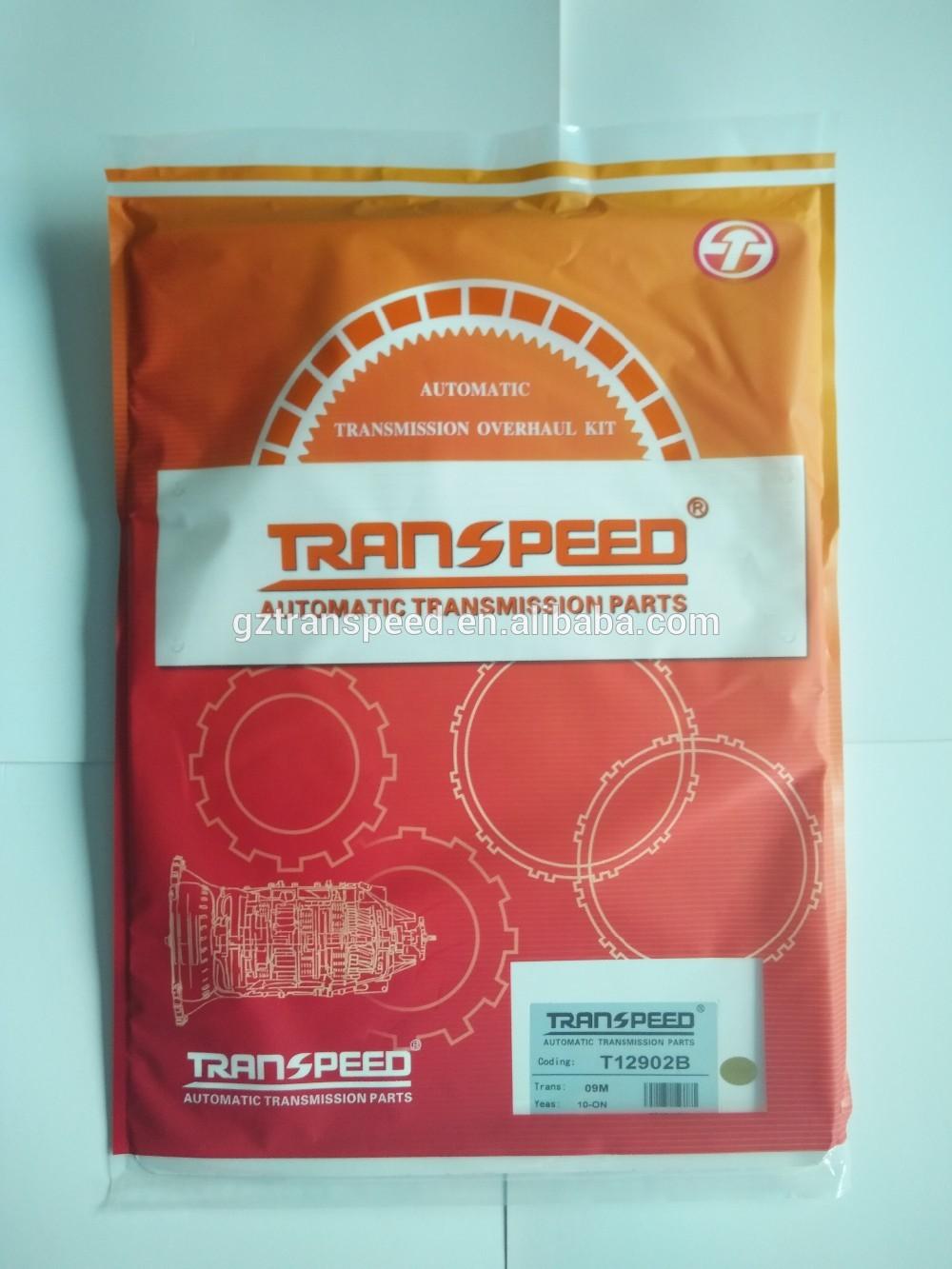 Transpeed TF62-SN 09M overhaul kit T12902B auto seal kit