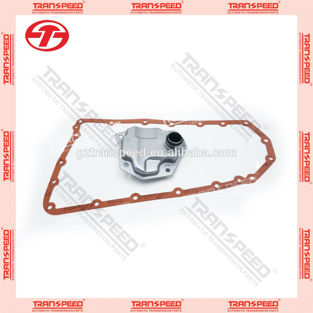 CVT JF011E/RE0F10A automatic transmission oil service kit , oil filter gakset kit.